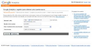 Complete los formularios que aparecen en pantalla