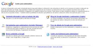 Herramienta de Google para Webmasters
